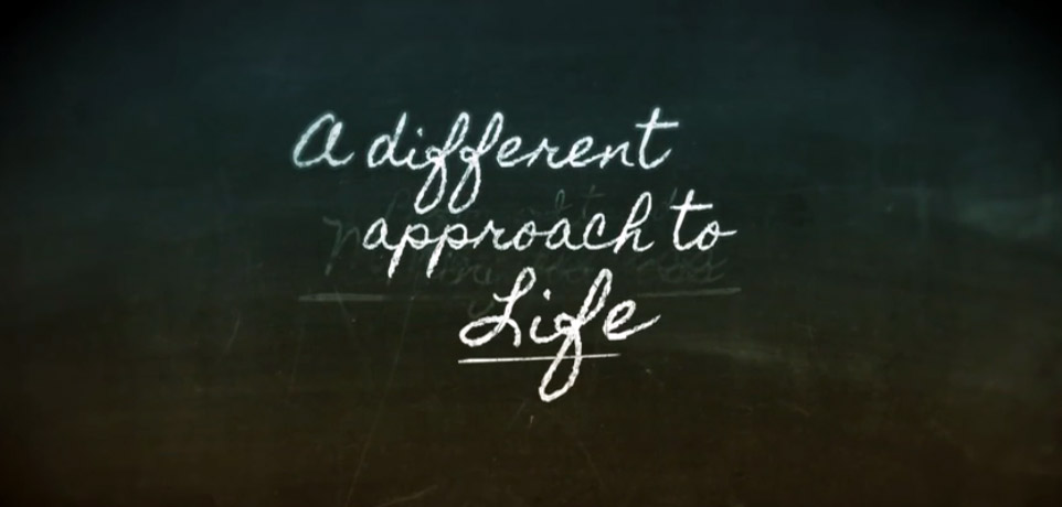a different approach to life