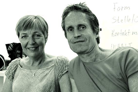Helle Jensen og Peter Høeg