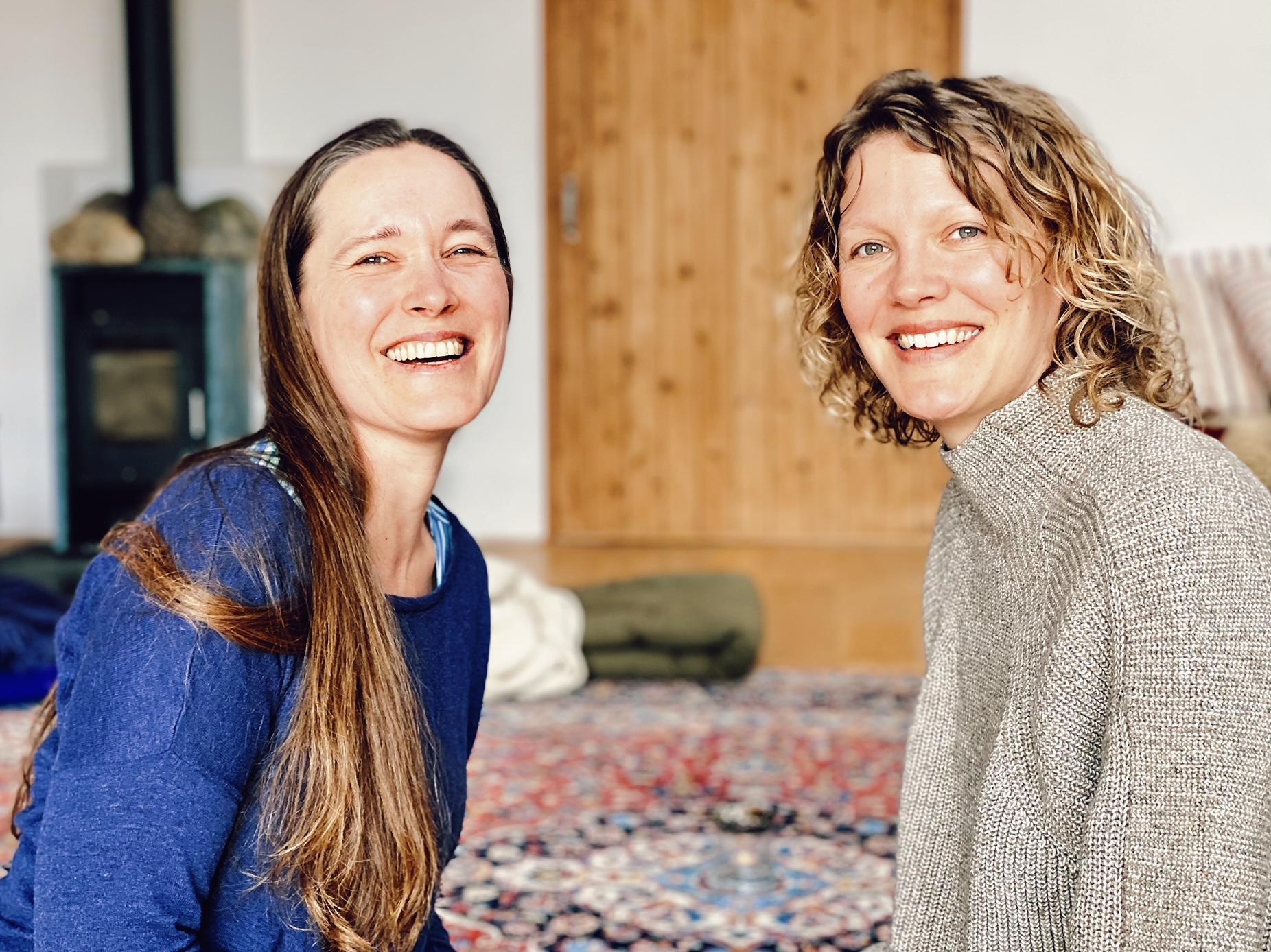 Britta og Jeanette